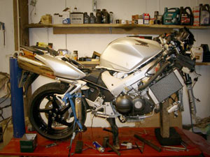 motorcycle repairs in Rayleigh